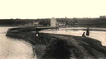 moulin de Beauchet vers 1900, Saint-Père-Marc-en-Poulet