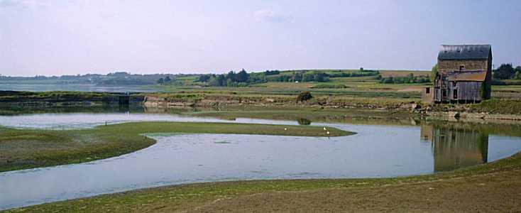 moulin de Beauchet et son étang, Saint-Père-Marc-en-Poulet